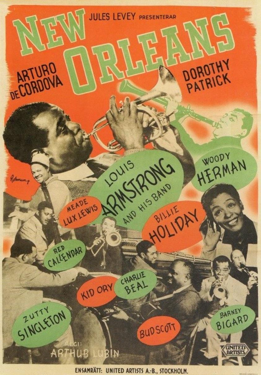 New Orleans 1947 Arthur Lubin Arturo de Córdova